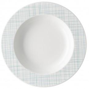 Rosenthal Mesh Line Aqua: Teller tief 23 cm mit Fahne