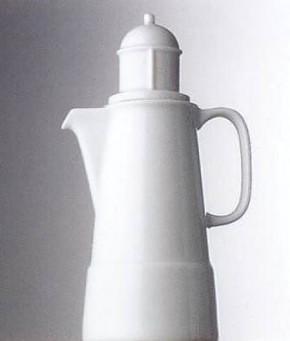 Rosenthal Minikännchen uni - weiss: Il Faro H=12 cm; Aldo Rossi