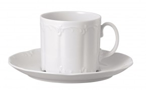 Rosenthal Monbijou Weiss - Weiß: Kaffeetasse 2-tlg.