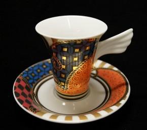 Rosenthal Jahres- / Künstler- Sammeltassen - Mythos: Espressotasse 2-tlg. Nr. 4 YANG