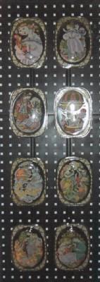 Rosenthal Wiinblads poet. Glasteller Nußknacker: Nußknacker Nr.  IV