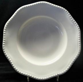 Rosenthal Perlrand Weiss: Suppenteller 26 cm