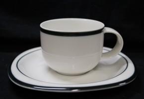Rosenthal Suomi Anthrazit: Kaffeetasse 2-tlg.