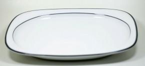 Rosenthal Suomi Anthrazit: Platte groß, tief 38 x 30 cm