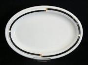 Rosenthal Cupola Nera: Platte 31 (31 x 23 cm)