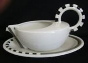 Rosenthal Cupola Strada: Sauciere  0,60 ltr. mit Untersetzer