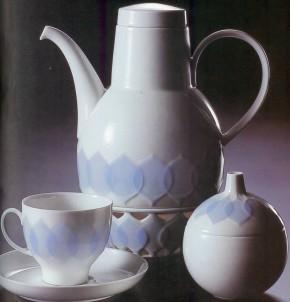 Rosenthal Lotus Kobalt - Blau: Kaffeetasse 2-tlg.
