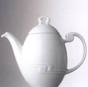 Rosenthal Minikännchen uni - weiss: Asimmetria H=8,5 cm; Björn Wiinblad