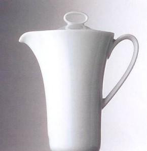 Rosenthal Minikännchen uni - weiss: Idillio  H = 10 cm; Paul Wunderlich