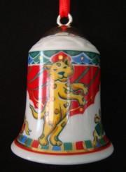 Rosenthal Porzellanglocke 7 cm: Regents Park Nina Campbell Motiv 2 -1996