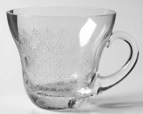 Rosenthal Romanze Strohglas - Flächenschliff: Bowleglas mit Henkel Ø 8,3 cm