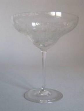 Rosenthal Romanze Strohglas - Flächenschliff: Likörschale 119 cm hoch, Ø 8 cm