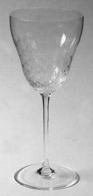 Rosenthal Romanze Strohglas - Flächenschliff: Weisswein 194 mm hoch, Ø 8,2 cm
