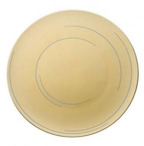 Rosenthal TAC 02 Dynamic Gold: Brotteller 16 cm - Gold + sandgestrahlt
