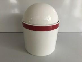 Rosenthal Cupola Rossa: Zuckerdose für 6 Personen