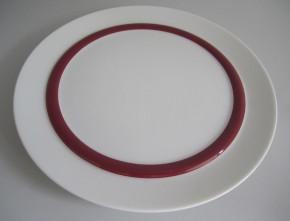 Rosenthal Cupola Rossa: Frühstücksteller 21 cm