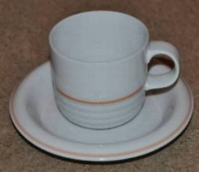 Thomas Corda mit orangefarb. Streifen : Milchkännchen f. 6 Personen