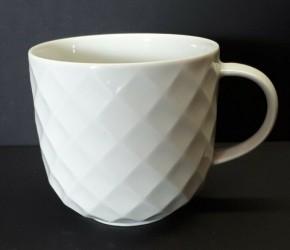 Thomas Holiday  weiss - weiß: Kaffee-Obertasse H = 6,8 cm; ∅ = 7 cm;