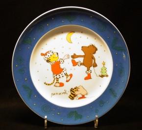 Thomas Janosch - Weihnachtsland: Frühstücksteller 22 cm
