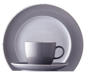 Thomas Sunny Day Light Grey: Cappuccinotasse 2-tlg. 0,38 ltr.