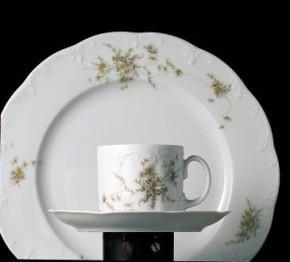 Rosenthal Monbijou Grüne Ranke: Kaffeetasse 2-tlg. H = 6,8 cm;
