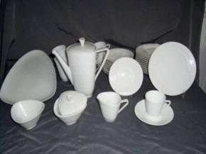 Hutschenreuther Apart Weiss - Weiß: Kaffeetasse 2-tlg. Höhe 7 cm,  Ø 7 cm, UT 14 cm