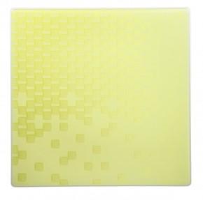 Hutschenreuther Luna Lavinia: Platzteller gelb, quadratisch 32 cm